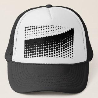 Half Tone Curve Trucker Hat