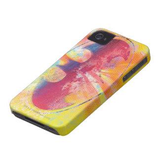 Half-Tone Dot Bat Symbol iPhone 4 Case-Mate Cases