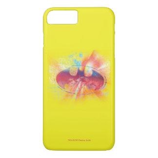 Half-Tone Dot Bat Symbol iPhone 8 Plus/7 Plus Case