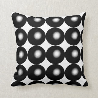 Half Tone Spheres Cushion