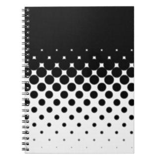 Half Tone Spiral Notebook