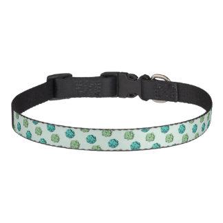 Half Tone Succulents Pet Collar