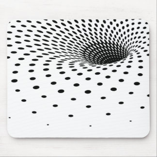 Half-tone tunnel mouse pads