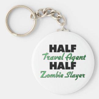Half Travel Agent Half Zombie Slayer Key Chain