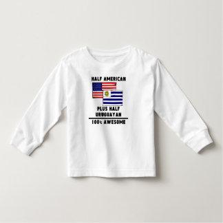 Half Uruguayan 100% Awesome Toddler T-Shirt