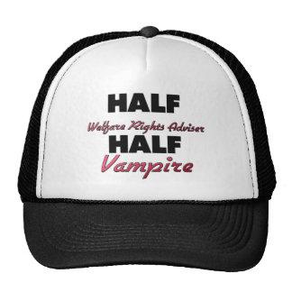 Half Welfare Rights Adviser Half Vampire Hats