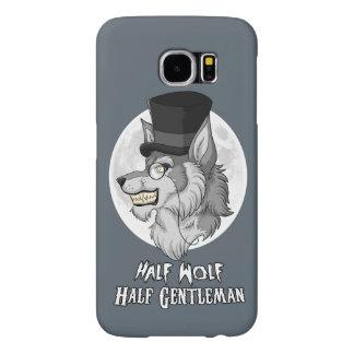 Half Wolf Half Gentleman Samsung Galaxy S6 Cases