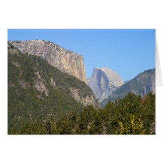 Halfdome Yosemite Forests Card