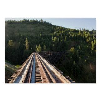 "Halfmoon Trestle (Bridge 22) 28""x20"" Poster"