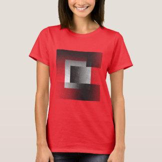 Halftone geometry T-Shirt