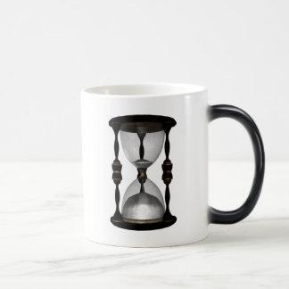 Halftone Hourglass Sand Timer Magic Mug