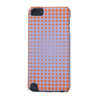 Halftone orange purple iPod touch 5G covers