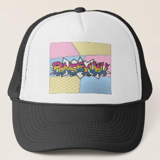 Halftone Pansexual Typography Trucker Hat