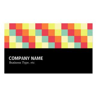 Halfway - Color Squares 010 Business Cards