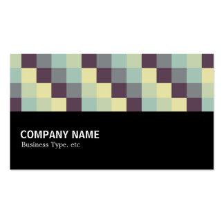 Halfway - Color Squares 011 Business Card