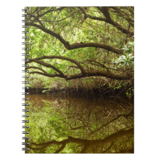 Halfway Creek at Low Tide Spiral Notebook