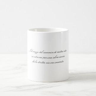 Halfway through the journey of our life coffee mug