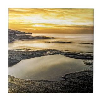 Halibut Point Sunset Tile