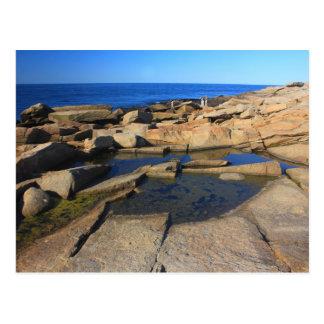 Halibut Point Tide Pool Rockport Cape Ann Postcard