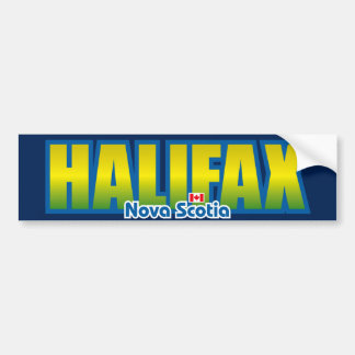 Halifax Bumper Bumper Sticker