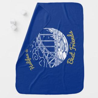 Halifax Dartmouth Best  Friends    blanket blue