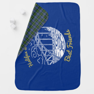 Halifax Dartmouth Best  Friends  blanket tartan