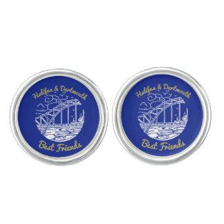 Halifax Dartmouth best friends N.S. something blue Cufflinks