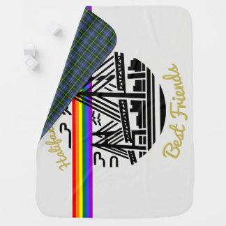 Halifax Dartmouth Best  Friends Pride  blanket