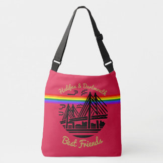 Halifax Dartmouth Best friends Pride  rainbow bag