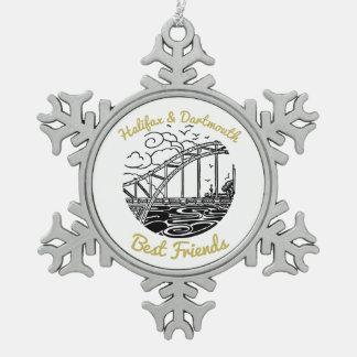 Halifax Dartmouth bridge N.S. Best Friend ornament