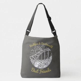 Halifax Dartmouth N.S. Best Friends  bag grey
