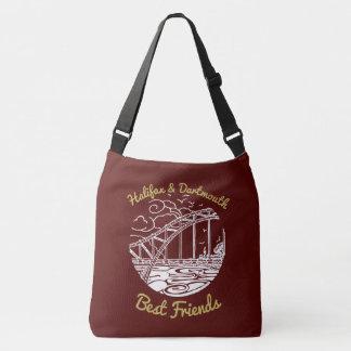 Halifax Dartmouth N.S. Best Friends  bag red