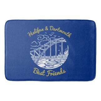 Halifax Dartmouth N.S. best friends  Bathroom mat