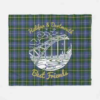 Halifax Dartmouth N.S. best friends blanket tartan