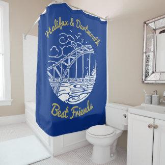 Halifax Dartmouth N.S. best friends shower curtain