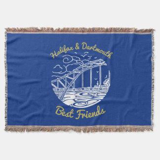 Halifax Dartmouth N.S. best friends throw blue
