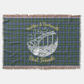 Halifax Dartmouth N.S. best friends throw tartan