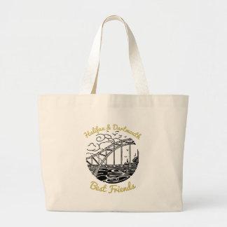 Halifax Dartmouth N.S. Best Friends tote bag