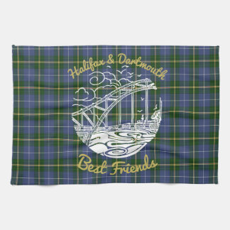Halifax Dartmouth N.S. best friends towel tartan