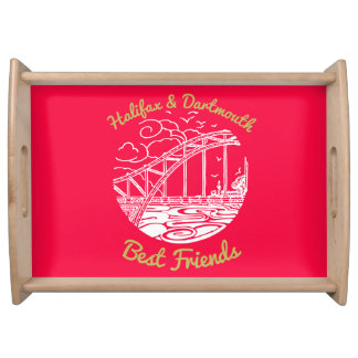 Halifax Dartmouth N.S. Best Friends tray pink