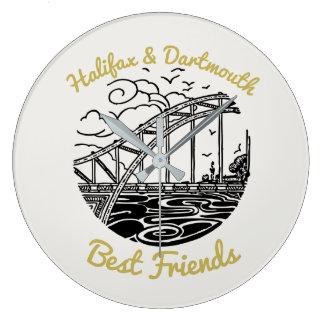 Halifax Dartmouth N.S. Best Friends wallclock