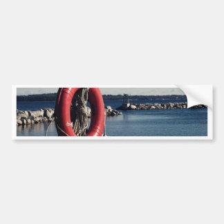 Halifax harbour bumper sticker