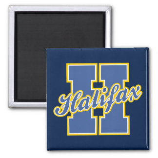 Halifax Letter Square Magnet