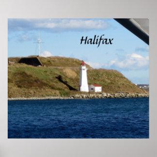 Halifax Lighthouse Poster