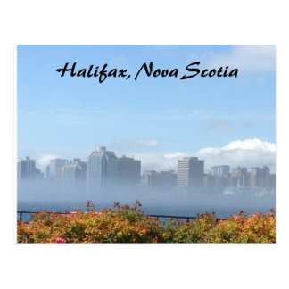 Halifax, Nova Scotia skyline postcard