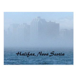 Halifax, Nova Scotia, waterfront postcard