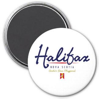Halifax Script Magnet