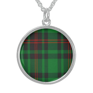 Halkerston Scottish Tartan Sterling Silver Necklace