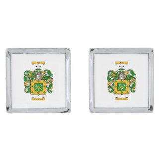 Hall (Irish) Silver Finish Cufflinks
