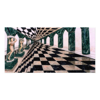 Hall of Diana - cricketdiane art photocard Personalized Photo Card